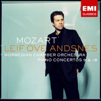 Leif Ove Andsnes: Mozart: Piano Concertos 9 and 18 (cover)