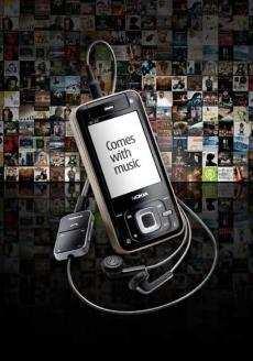 Nokia Comes With Music illustrasjon