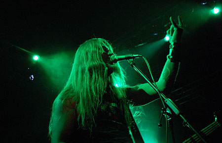 Enslaved live at Popkomm 2008 (Photo: Tomas Lauvland Pettersen /MIC)