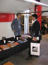 Womex 2002 Norwegian Stand (Photo: Norwegian Traditional Music Agency)